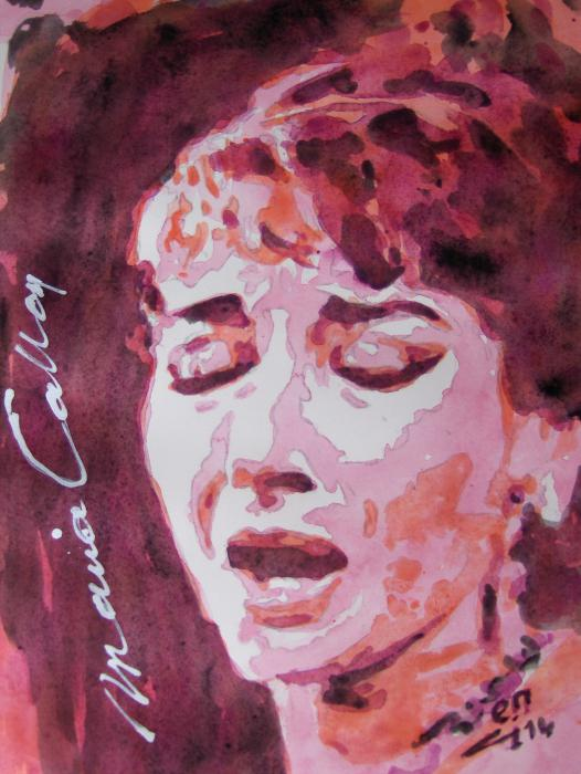 Maria Callas by ci-fij